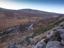 outono nas montanhas de Wicklow, Irlanda Imagem de Stock