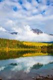 Outono nas montanhas rochosas Fotos de Stock Royalty Free
