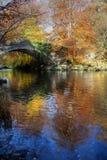 Outono no banco de Ogwen Imagens de Stock