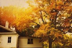 outono no Midwest imagens de stock