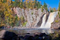 Outono, quedas do baptismo imagens de stock royalty free
