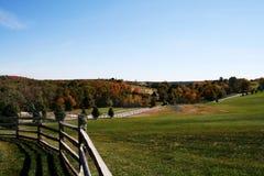 Outono rural Fotos de Stock Royalty Free