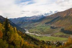 outono 2014 Svaneti geórgia Foto de Stock