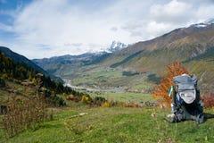 outono 2014 Svaneti geórgia Fotos de Stock