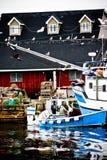 Outport-Gemeinschaft Stockfotografie