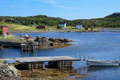 Outport Newfoundland Stock Photo