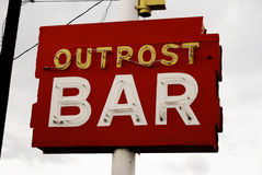 Outpost Bar Royalty Free Stock Image