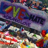 An outpouring of love for the victims of the Orlando nightclub shooting Stock Image