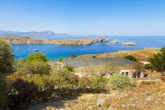 Output from the Gulf of Lindos Royalty Free Stock Image
