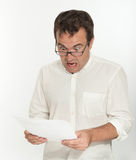 Outrageous document Stock Photography