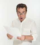 Outrageous document Royalty Free Stock Images