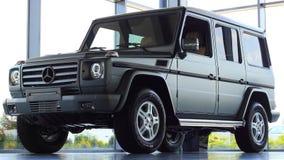 Outre de l'icône de route : Classe de Mercedes-Benz G Images stock