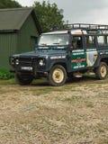 Outre de la jeep de route pour la nature sauvage photo libre de droits