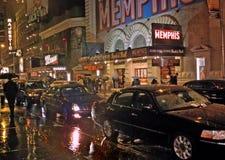 Outre des expositions de Broadway, New York 23 novembre 2011 image libre de droits