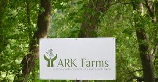 Outreach de la communauté d'exploitation agricole d'arche, Arlington, TN Photographie stock