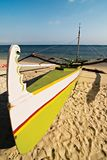 Outrigger Boat Stock Photography