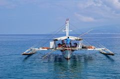 Outrigger boat Royalty Free Stock Photography