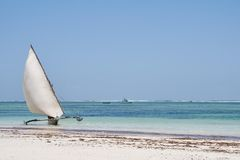 Outrigger boat Royalty Free Stock Photos