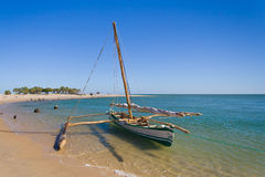 Outrigger canoe Royalty Free Stock Photography