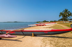 Outrigger Canoe Stock Image
