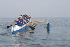 Outrigger Canoe Race Royalty Free Stock Image