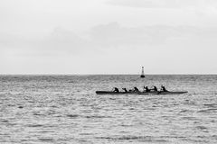 Outrigger Canoe Stock Images
