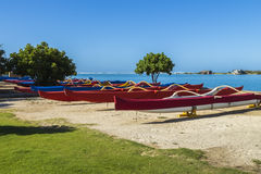 Outrigger Canoes 2 Stock Image