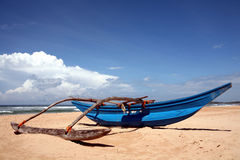 Outrigger In Sri Lanka Stock Photography