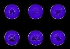 Outros ícones Imagem de Stock