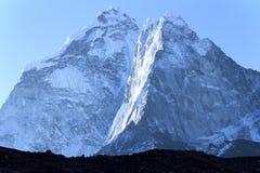 Outscaled,安纳布尔纳峰地区,尼泊尔 免版税库存照片