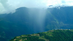 Outscaled, región de Annapurna, Nepal Imagen de archivo