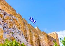 Outside of Acropolis Stock Photos