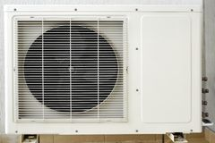 Outside Air Conditioner Royalty Free Stock Image
