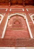 Outside Architecture of the Red Fort Stock Images