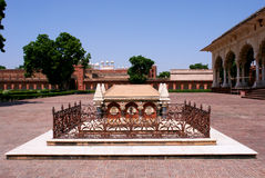 Outside Architecture of the Red Fort Royalty Free Stock Photo