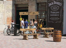 Outside bar Stock Image
