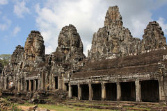 Outside Bayon Temple Stock Photos