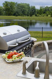 Outside BBQ Kitchen Royalty Free Stock Photo