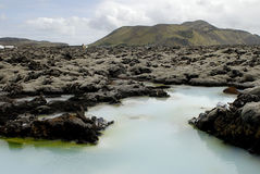 Outside the Blue Lagoon Royalty Free Stock Photography