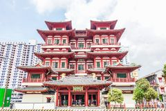 Free Outside Buddha Tooth Relic Temple And Museum,It Is Chinese Style Architecture And Flare On Roof Of Temple That Popular Royalty Free Stock Photo - 141385305