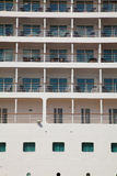 Outside cabin cruise ship Royalty Free Stock Image