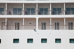 Outside cabin cruise ship Stock Photography