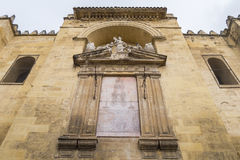 Outside the Cathedral of Cordoba Mosque, Spain Royalty Free Stock Image