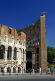 Outside Colosseum Rome Stock Images