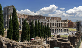 Outside Colosseum Rome Royalty Free Stock Images