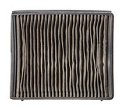Outside of dirty air filter Royalty Free Stock Photos