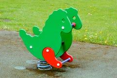 Outside Dragon playground ride Stock Image