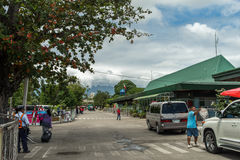 Outside Dumaguete Airport Royalty Free Stock Image