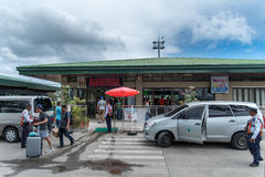 Outside Dumaguete Airport Royalty Free Stock Photo