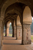 Outside gallery of Isa Khan Niyazi tomb, Humayun's Tomb complex, Stock Photos